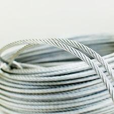 Edelstahlseil 1mm bis 10mm Stahlseil Edelstahl Drahtseil V4A Inox Seile rostfrei