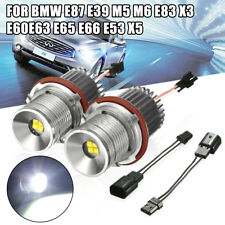 2x LED Angel Eyes Halo Ampoule Blanc pr BMW E87 E39 E60 E61 E63 E64 E65 E66 E83