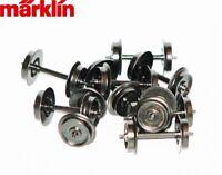 Märklin H0 E700190-S AC Wechselstrom-Radsatz Nadellager (10 Stück) - NEU