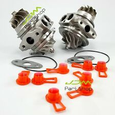 New Double Turbo Cartridge Core 7649290 7593016 For BMW E90 E91 E92 135i 335i Z4