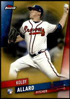 Kolby Allard 2019 Finest 5x7 Gold #27 RC /10 Braves