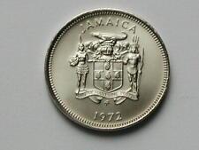 Jamaica 1972 FM 10 CENTS Coin UNC (M) Matte Proof with Lustre