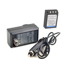 New Li-10B Li-12B Battery + Charger For FE-200 C-760 Stylus 800 Digital Camera
