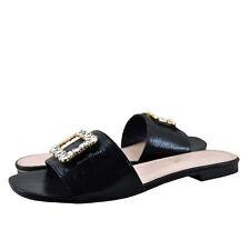d2751d50b7e Women s Shoes Blossom Evelyn 21B Embellished Slip On Sandals Black ...
