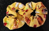 Hair Scrunchies - Australian Christmas Mixed  Animals - Handmade