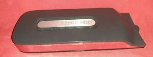 XBOX 360 OFFICIAL MICROSOFT 120GB CLIP ON HARD DRIVE HDD OEM fat black phat