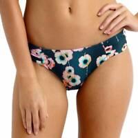 Seafolly Cabana Rose Ruched Side Retro Bikini Brief