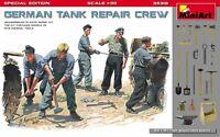 Miniart 35319 - GERMAN TANK REPAIR CREW 5 figures World War II 1/35 scale model