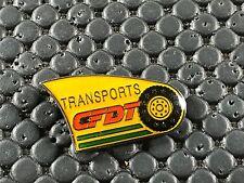 PINS PIN BADGE CAR CAMION TRUCK CFDT