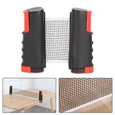 Tischtennisnetz ausziehbar Tragbar Tischtennis einstellbare 180cm