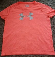 Girls Size Youth LARGE YXL - Logo Heat Gear Under Armour T-Shirt