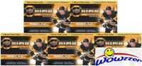 (5) 2019/20 Upper Deck Series 1 Hockey HUGE Factory Sealed Blaster Box-YOUNG GUN