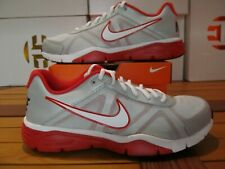 DS Nike Dual Fusion TR 3 Platinm White Red 11.5 512109 007 m2k tekno air monarch