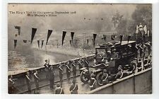 KING'S VISIT TO BLAIRGOWRIE, 1908: Perthshire postcard (C18059)