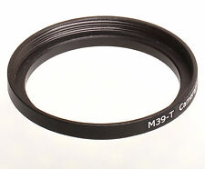 M39 to T2 T-mount lens converter adapter ring 39mm-42mm 39-42 mm 39x0.75-42x0.75