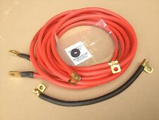 Mk1 Escort TwinCam Mexico RS1600 Battery Cables in Red