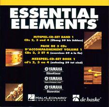 Essential Elements Band 1 - CD Set - mit CDs 2, 3, 4 - 9990051362015