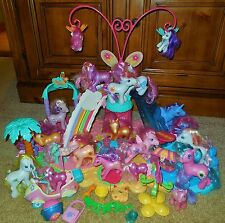 MY LITTLE PONY MUSIC BUTTERFLY TROPICAL SURF ISLAND ADVENTURE 21 PONIES SET LOT