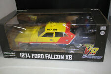 GREENLIGHT 1/18 MAD MAX FORD XB FALCON MFP SEDAN 1st OF THE V8 INTERCEPTORS  NEW