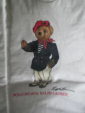 POLO RALPH LAUREN POLO BEAR - VINTAGE FRENCH - WOMAN's SHORT SLEEVE T-SHIRT