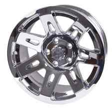 "Polished Chrome 17"" Aluminum Wheel Jeep Wrangler JK JL 07-18  Rugged Ridge"