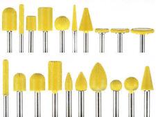 "10% Discount 20pcs Saburr Tooth Yellow Carbide Burrs 1/4"" Shank Made in USA"