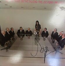 JOE PERRY AREOSMITH SIGNED AUTOGRAPHED LP ALBUM VINYL JSA COA