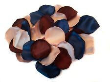 Rose Gold Navy Blue Burgundy Wedding Flower Petals Wedding Decor 100 Petals