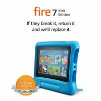 All New Amazon Fire 7 Kids Edition Tablet 16GB ,7 Inch Display Latest 2019 Model