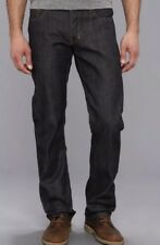 New PRPS 31x34 Jeans Barracuda Non-Selvedge 30 Noir Demon Rambler Raw Rigid Blie