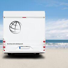 2 Stück Globus 20cm Globe Weltkugel Aufkleber Auto Offroad 4x4 Wohnmobil Bus top