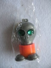 Alien Key Ring with Green Stone Eyes - NWOT - Sealed