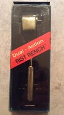 """NOS   RISTCO RIST RENCH Ratchet Wrench Tool   Dual Action 3/8""""Drive   NIB NEW"""