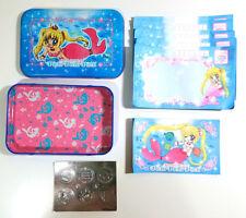 Pichi Pichi Pitch - Nakayoshi Furoku Stationery Set - Metal Tin Stickers Memo