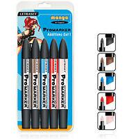 Letraset Promarker 5 Marker Pen Set - Manga Additions 1