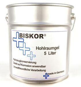 Biskor Hohlraumgel 5 Liter  Hohlraumversiegelung geeignet für Druckbecherpistole