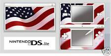 Nintendo DS or DS Lite AMERICAN FLAG Sticker / Decal