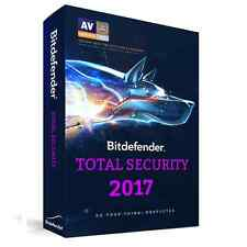 Bitdefender Total Security 2017 for 3 PCs for 1 Year