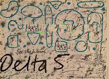 Delta 5 UK Tour Advert 1981 MM-DFGH
