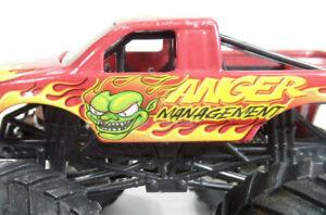 Monster Jam Truck ANGER MANAGEMENT Hot Wheels