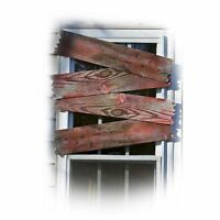 Bloody Window Boards Haunted House 3D Scary Spooky Classic Halloween Decoration