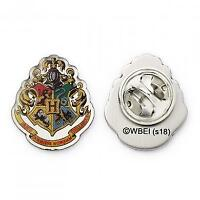New Official Genuine Warner Brothers Harry Potter Hogwarts Crest Pin Badge
