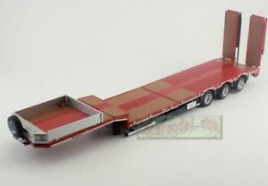 1/32 SCALE MARGE MODELS NOOTEBOOM LOW LOADER Trailer RED METAL GRIDS Truck