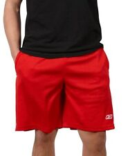 NEW Reebok Athletic Performance Mesh Shorts, Red, Size:  XX-Large