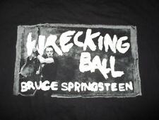 2012 BRUCE SPRINGSTEEN Wrecking Ball Concert Tour (2XL) T-Shirt BLK
