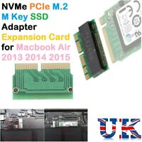 M Key M.2 PCI-e To 12+16Pin AHCI SSD Adapter Card For Mac Air Pro 2013 2014 2015