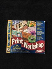 Print Workshop 2004 Limited Edition Windows PC CD ROM B467