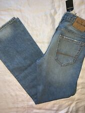 NWT Abercrombie Boys Straight Fit Jeans - Size 12