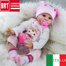 55CM Bambole rinascere Lifelike Reborn Baby Doll Vinyl Kids Doll playmate regalo
