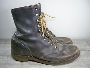 Vintage Red Wing Hiking Work Sport Workwear Chore Soft Toe Boots Mens Size 8 D